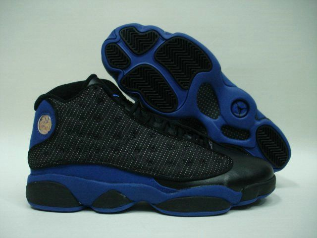 Jordan Shoes Air Jordan 13 Dark Unversity Blue White [Air Jordan 13 - The  Air Jordan 13 constructed from a combination of leather, durabuck, and  reflective ...
