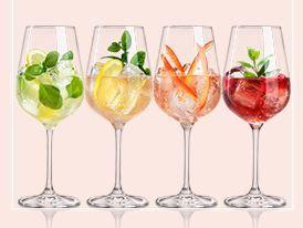 Verschiedene Variationen für Drinks mit Ramazotti Rosato #lemonade