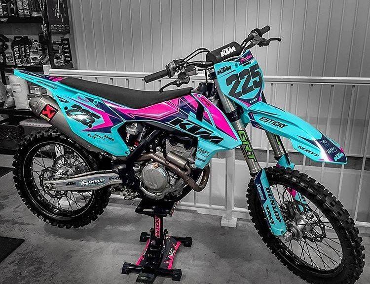 Brotocross On Instagram Cute Isn T She Ktm Sx250f Motocross Dirtbike Color 2wheels Promotocross M Cool Dirt Bikes Motorcross Bike Ktm Dirt Bikes
