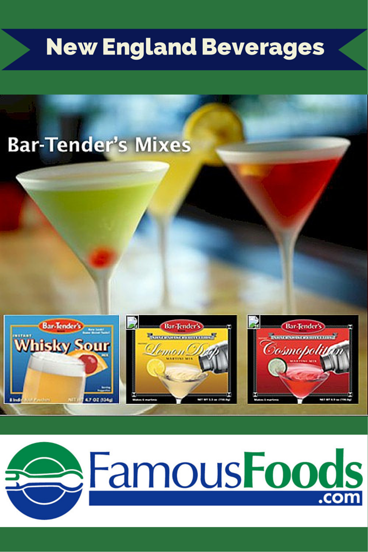 #Bar-Tender Mixes are simple and easy add-ins for your cocktails! #drinkmixes http://www.famousfoods.com/bartenders.html