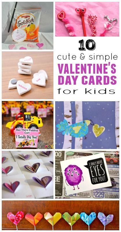 Diy Valentine Cards For Kids Pinterest Cards Diy Valentine And