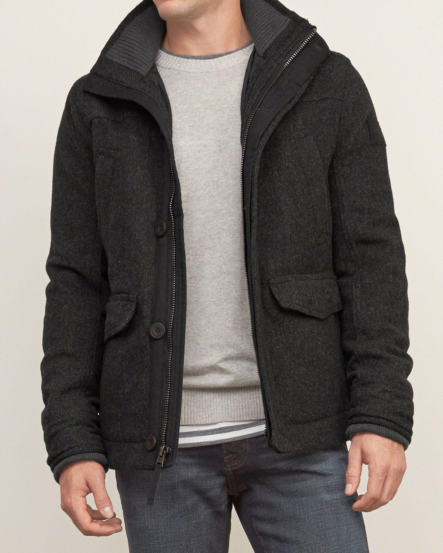 Quilt Lined Wool Jacket Mens Outerwear Jacket Twill Jacket Wool Jacket [ 1500 x 1200 Pixel ]