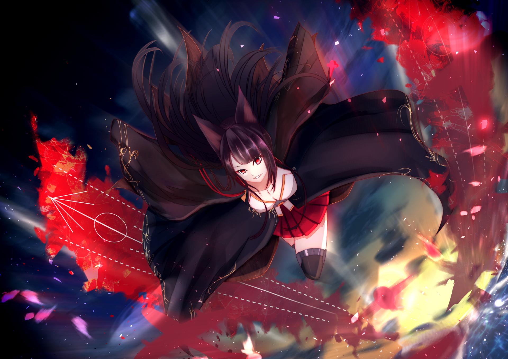 Anime Azur Lane Akagi Azur Lane Wallpaper Anime Wallpaper Backgrounds Akagi