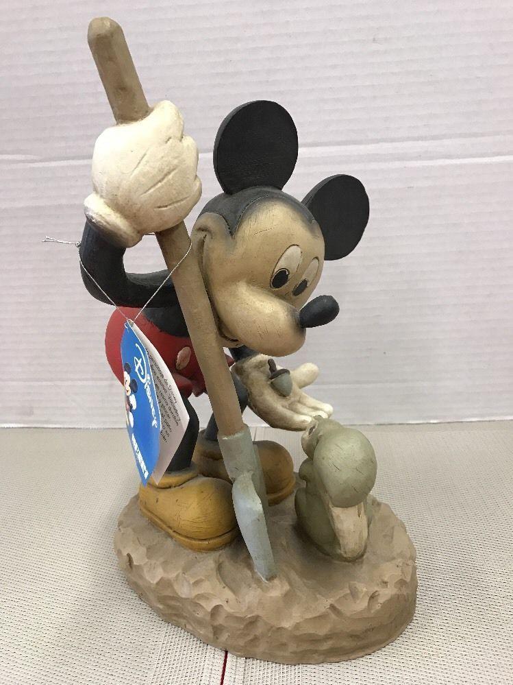 Mickey Mouse Gardener   Yard/Garden Statue   Disney, Henri Squirrel Vintage