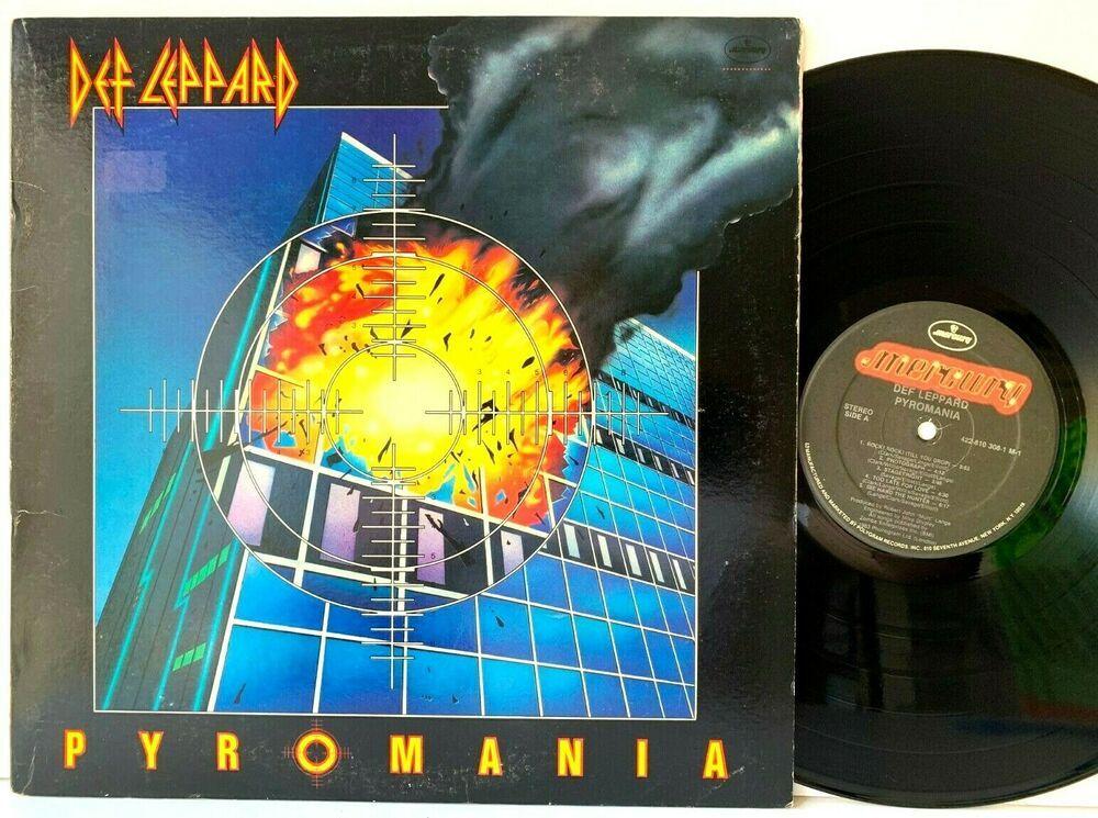 Def Leppard Pyromania Mercury Masterdisk Be A Grizzly Lp Vinyl Record Album Capitolcollectibles Com Sto Vinyl Record Album Vinyl Records New Vinyl Records