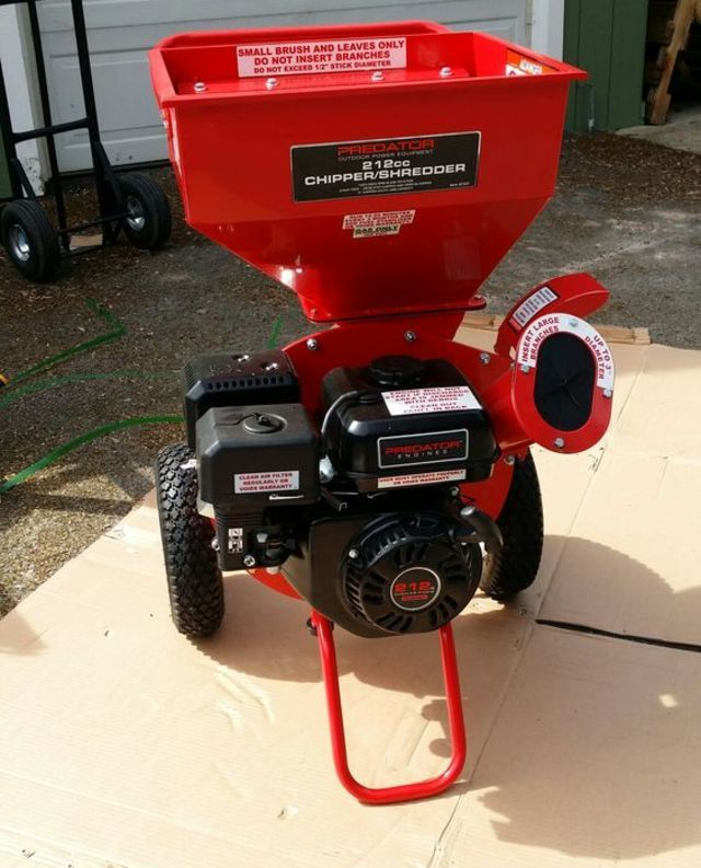 Tool Review Predator Harbor Freight Wood Chipper And Shredder Main Image