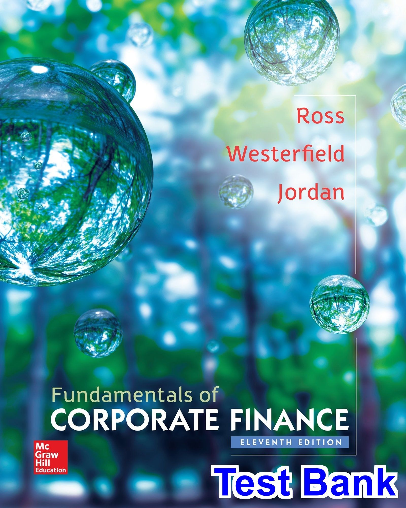 Fundamentals of Corporate Finance 11th Edition Ross Test Bank - Test ...