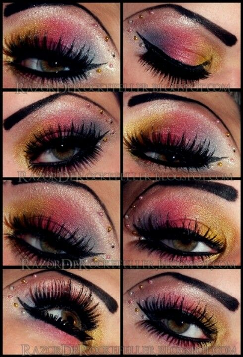 Awesome colors an lashes