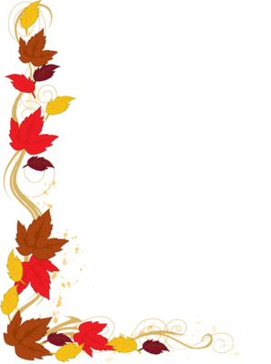 web design leaves autumn and ss rh pinterest com fall leaves border clipart fall border clipart for word