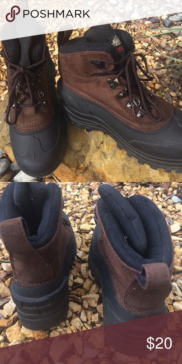 5b3df8c61cc Selling this Itasca Women Brown Boots on Poshmark! My username is ...