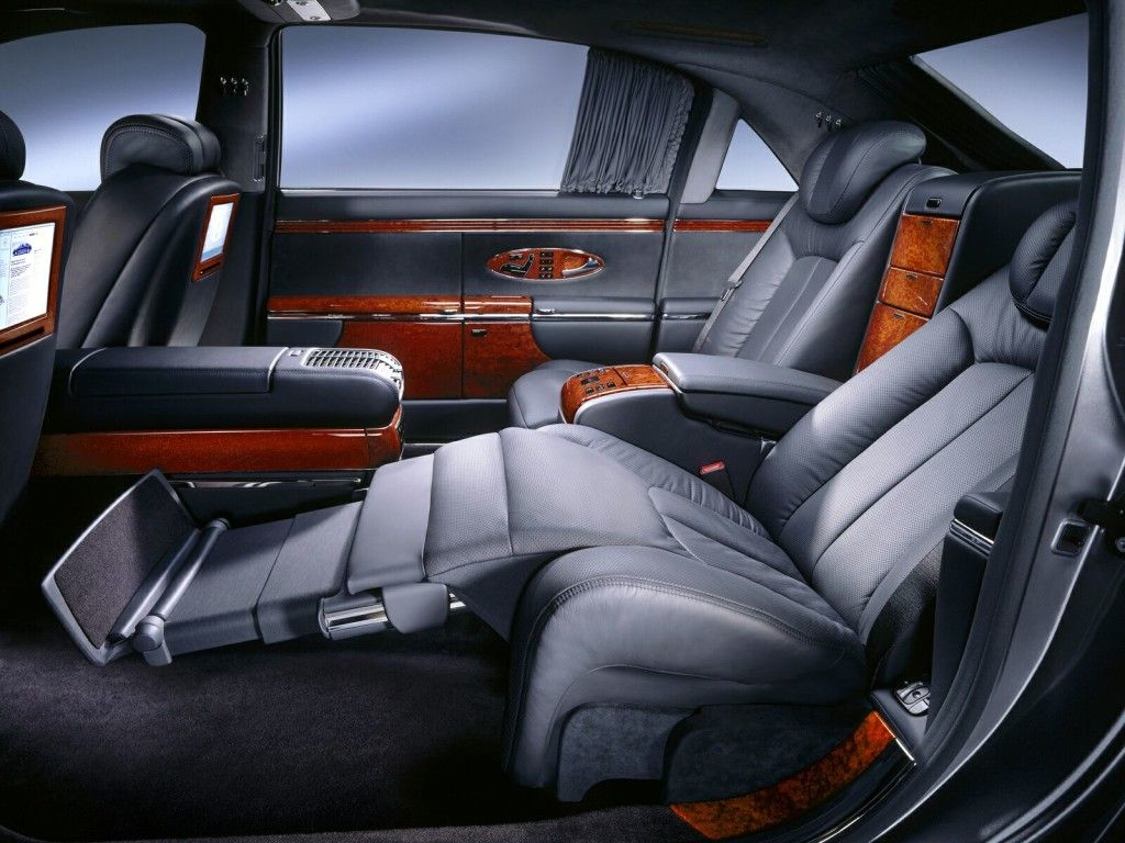 Inside Of The Maybach Maybach Exelero Luxury Car Brands Maybach