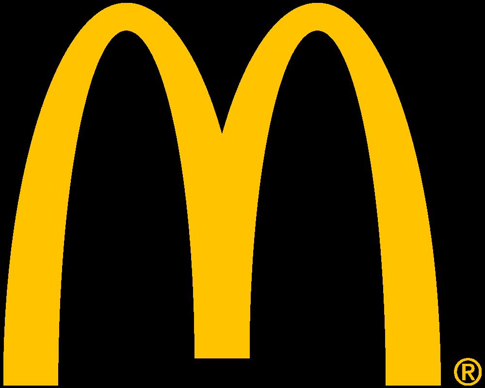 how to draw a mcdonalds logo