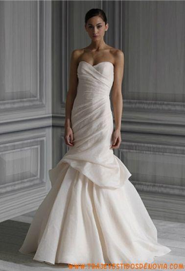 P/V Peony Vestido de Novia Monique Lhuillier | vestidos de novia ...
