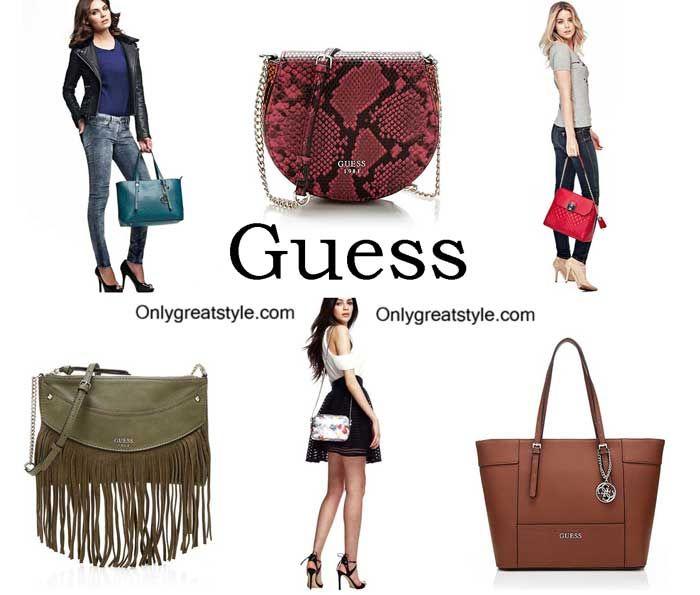 Guess Bags Fall Winter 2017 Handbags For Women