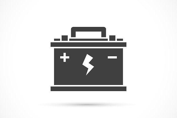 Car Battery Icon Battery Icon Car Battery Battery Logo