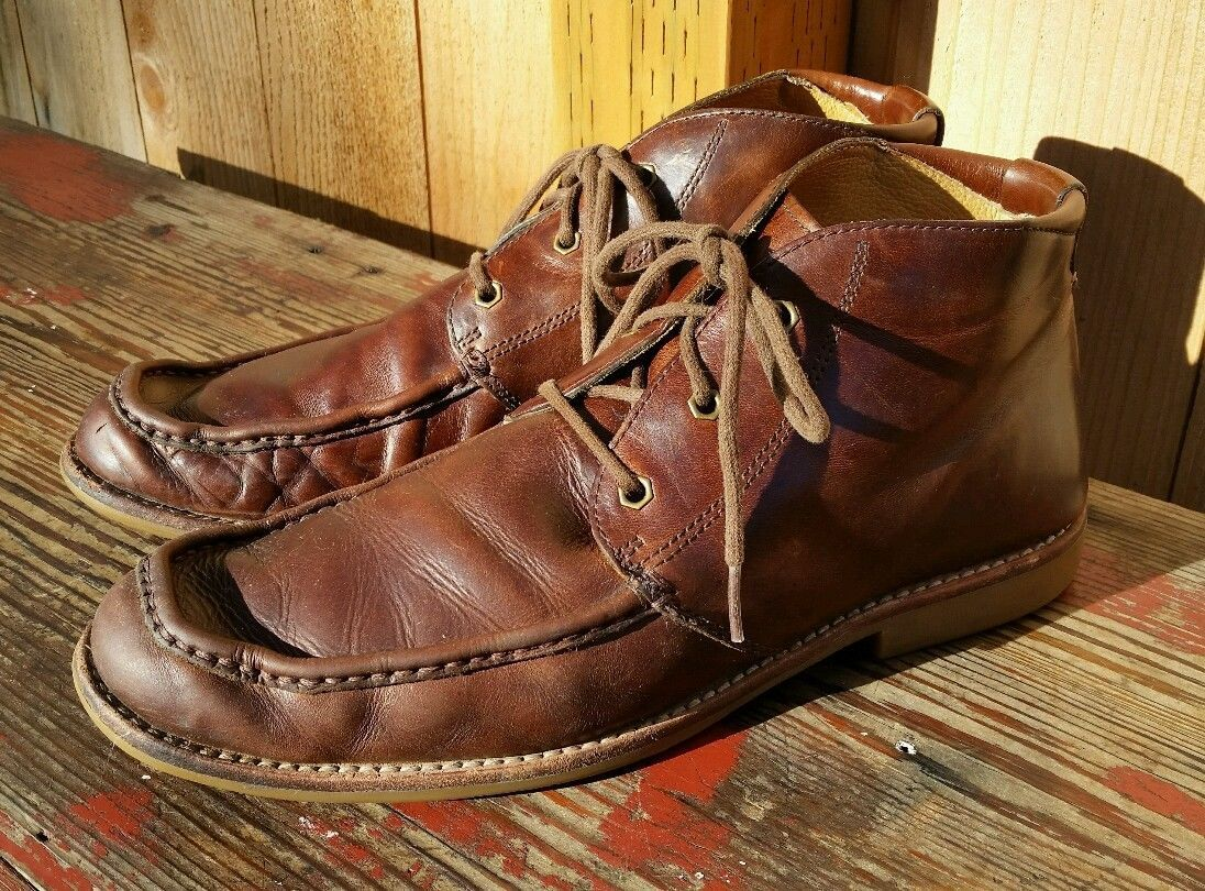 a9534f291f8 NICE PAIR OF UGG VIA LUNGARNO MEN'S BROWN LEATHER CHUKKA BOOTS ...