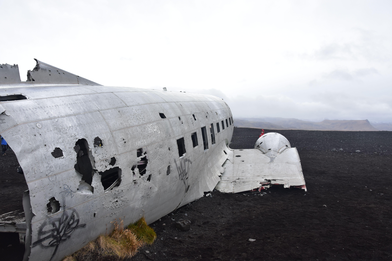 DC-3 avión estrellado