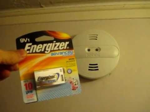 How To Change Your Smoke Detector Battery Including Hard Wired Detectors Fire Detectors Smoke Detector Detector