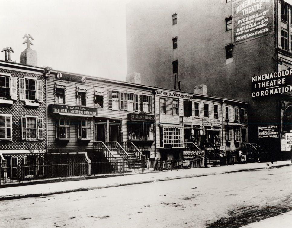 NYC 1887 near the Metropolitan Opera House.  Capezio Story | Capezio