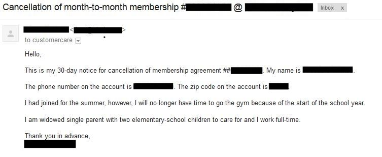 Gym membership cancellation heres how easy it can be to