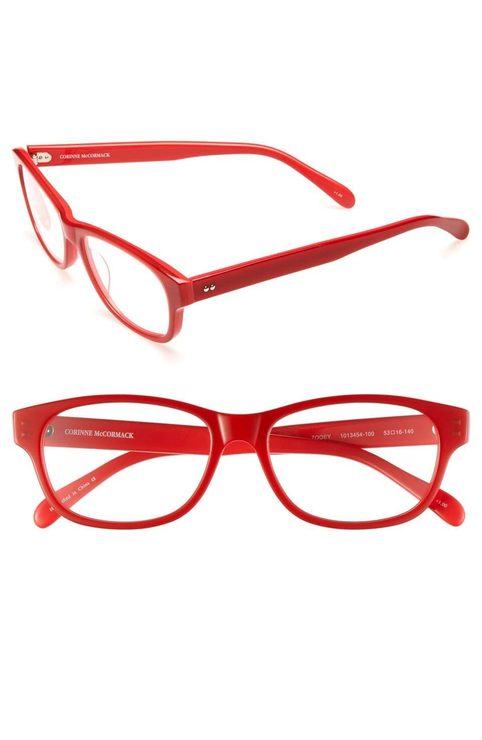 d0c7818b5135 Corinne McCormack 'Zooey' 53mm Reading Glasses on Wantering | Neon Love |  womens neon