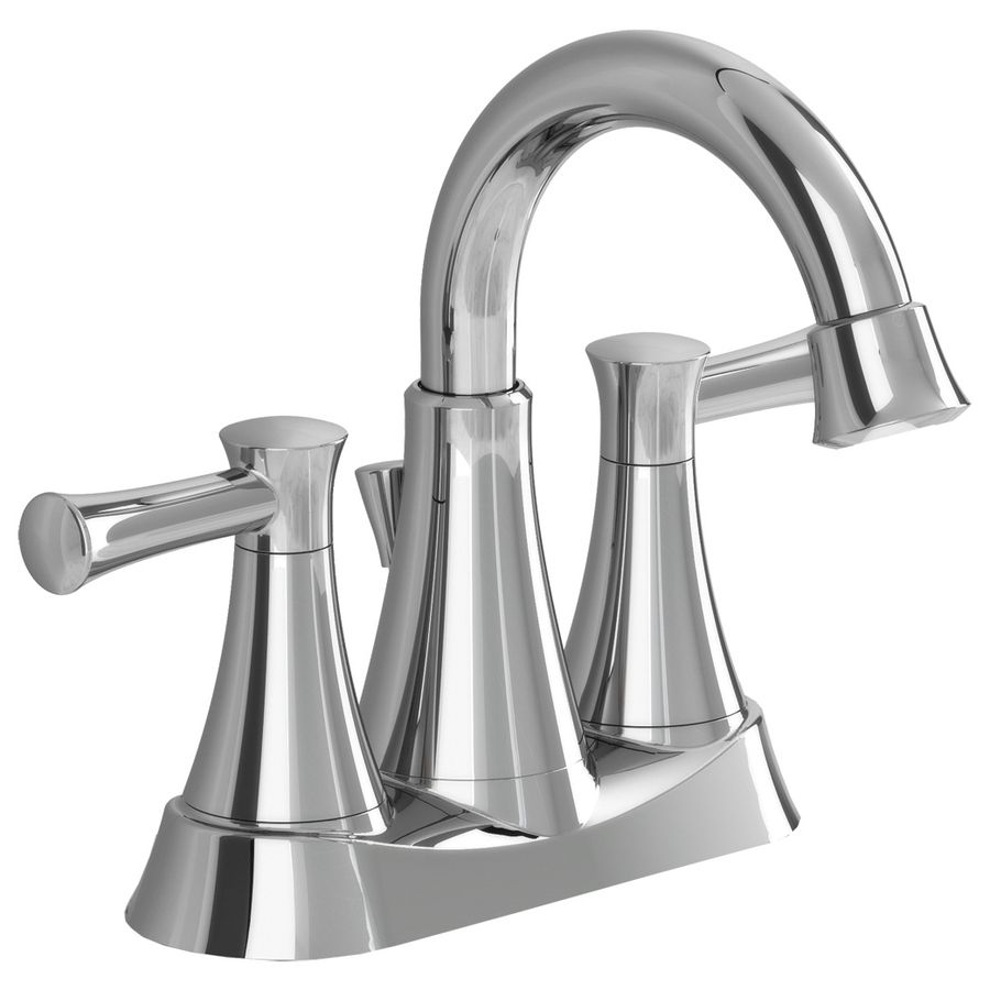 Shop American Standard Avery Chrome 2-Handle 4-in Centerset ...