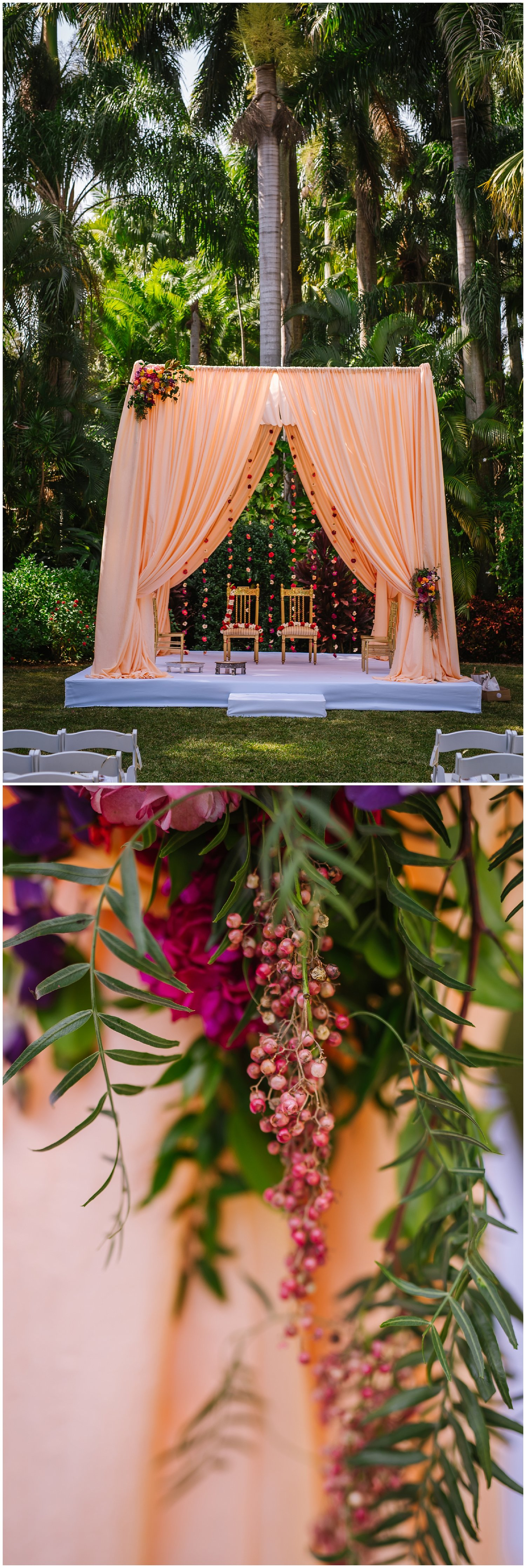 Amanda & Anand | Pinterest | Sunken garden, Hindu weddings and Weddings
