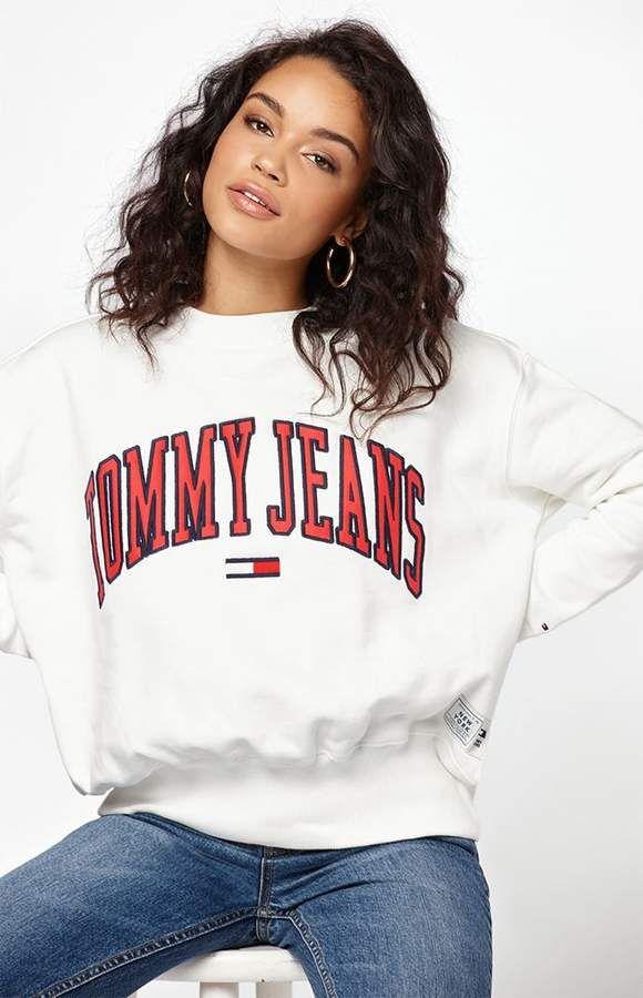 Tommy Jeans Collegiate Graphic Sweatshirt
