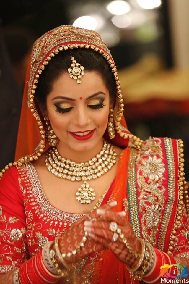 Bridal Hair Make up by Chandni Singh Chandni Singh Salon