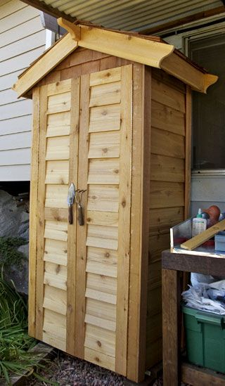 Small Storage Sheds Small Garden Tools, Small Storage, Storage Shed Plans,  Storage Building