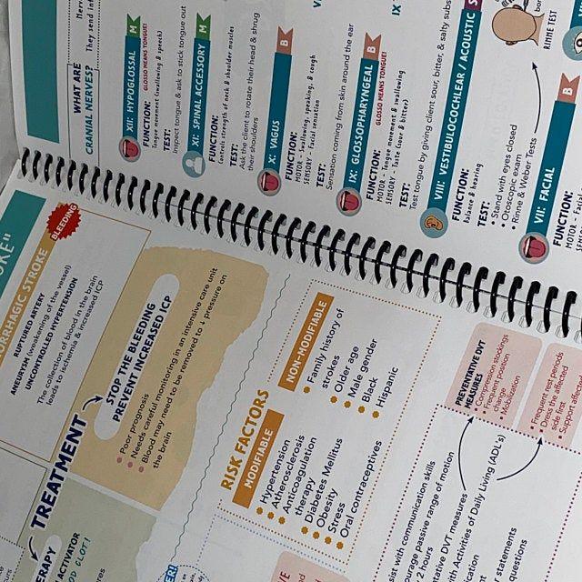17+ The Complete Nursing School Bundle™   200 pages   PRINTED &   Etsy