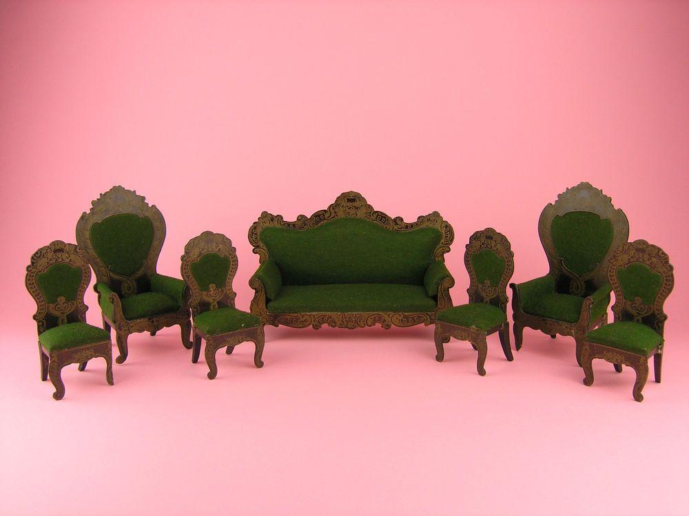 KESTNER-Rarität: Boulle-Sitzgruppe - extrem seltene Form in großer Größe!  | eBay