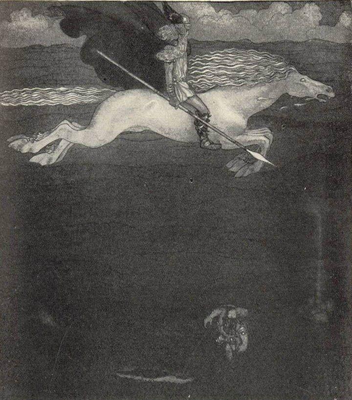 John Bauer Odin