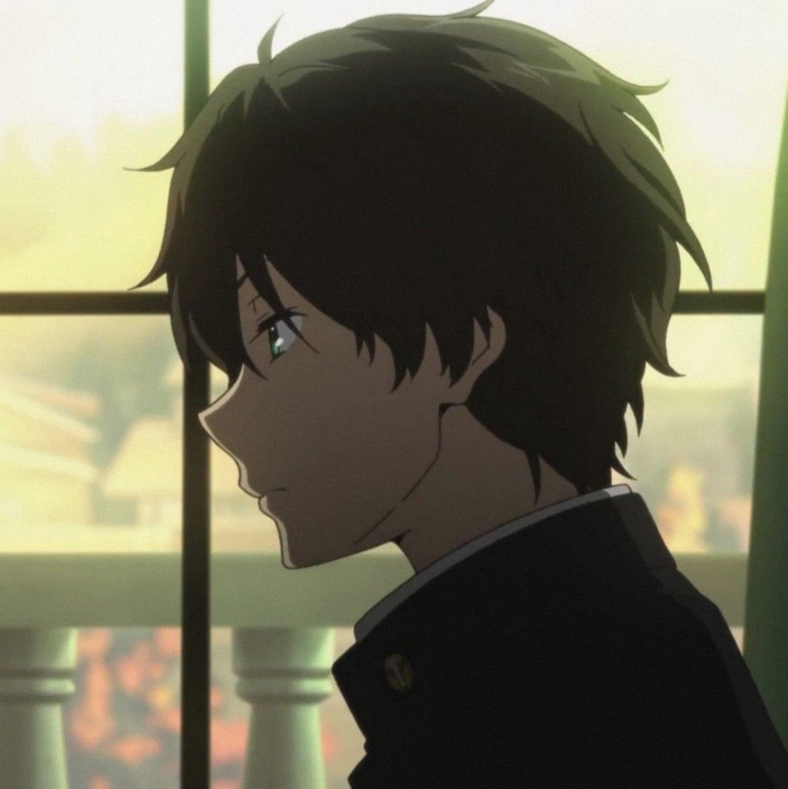 ʰʸᵒᵘᵏᵃ Hyouka Black Haired Anime Boy Anime Boyfriend