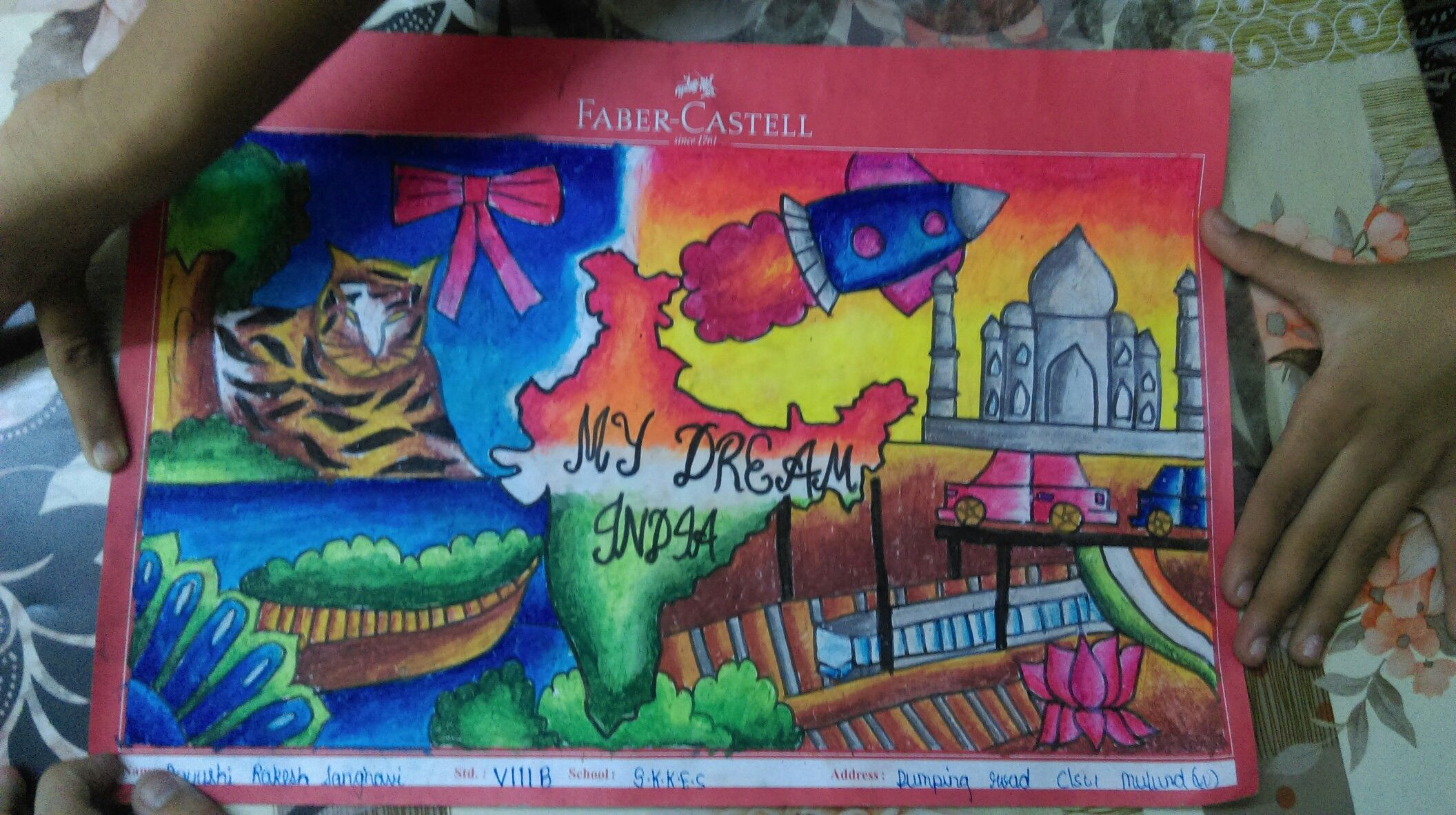 My Dream India Drawings For Competitions Dream Drawing Drawings Drawing Competition