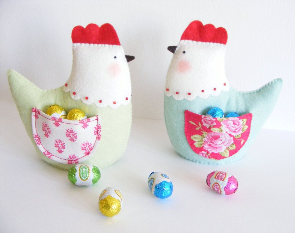 Pdf pattern easter hen with pocket easy sewing pattern diy pdf pattern easter hen with pocket easy sewing pattern diy spring easter negle Images
