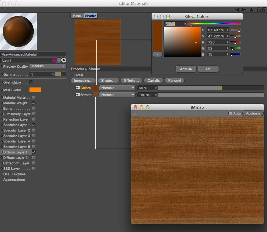 Illuminating an interior with Cinema4D + V-Ray: The Definitive Guide - Part 5 - materials | Angelo Ferretti