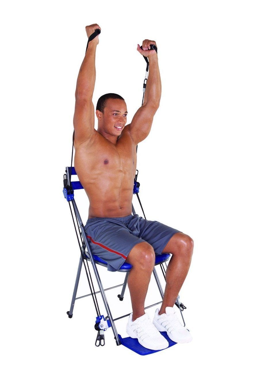 Best Chair Gym For Total Body Exercise Exercise Workout Total Body Workout