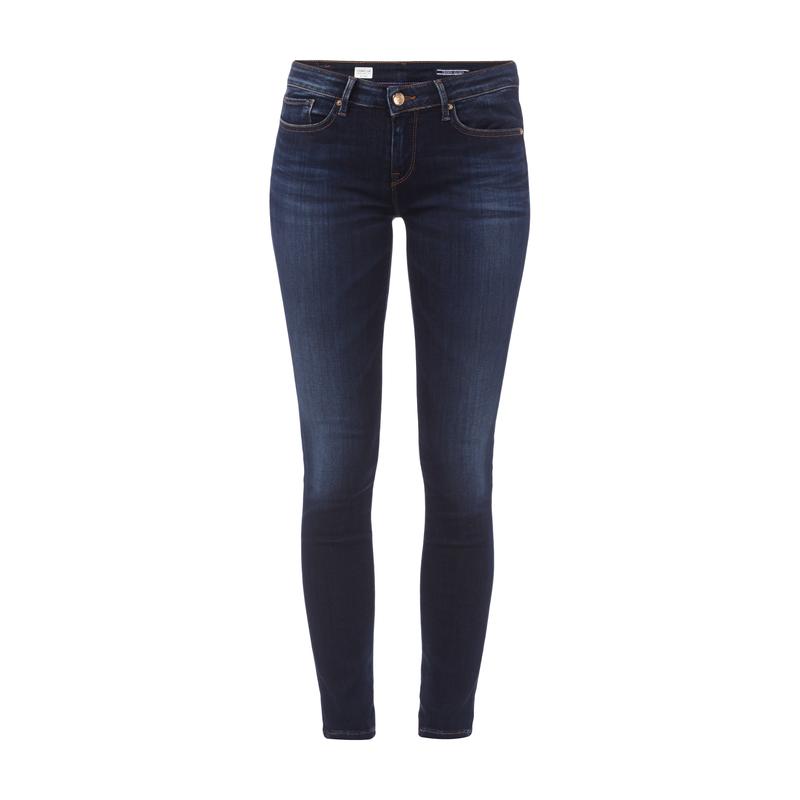 Tommy Hilfiger Jegging Fit Stone Washed Jeans für Damen - Damen 5-Pocket- Jeans
