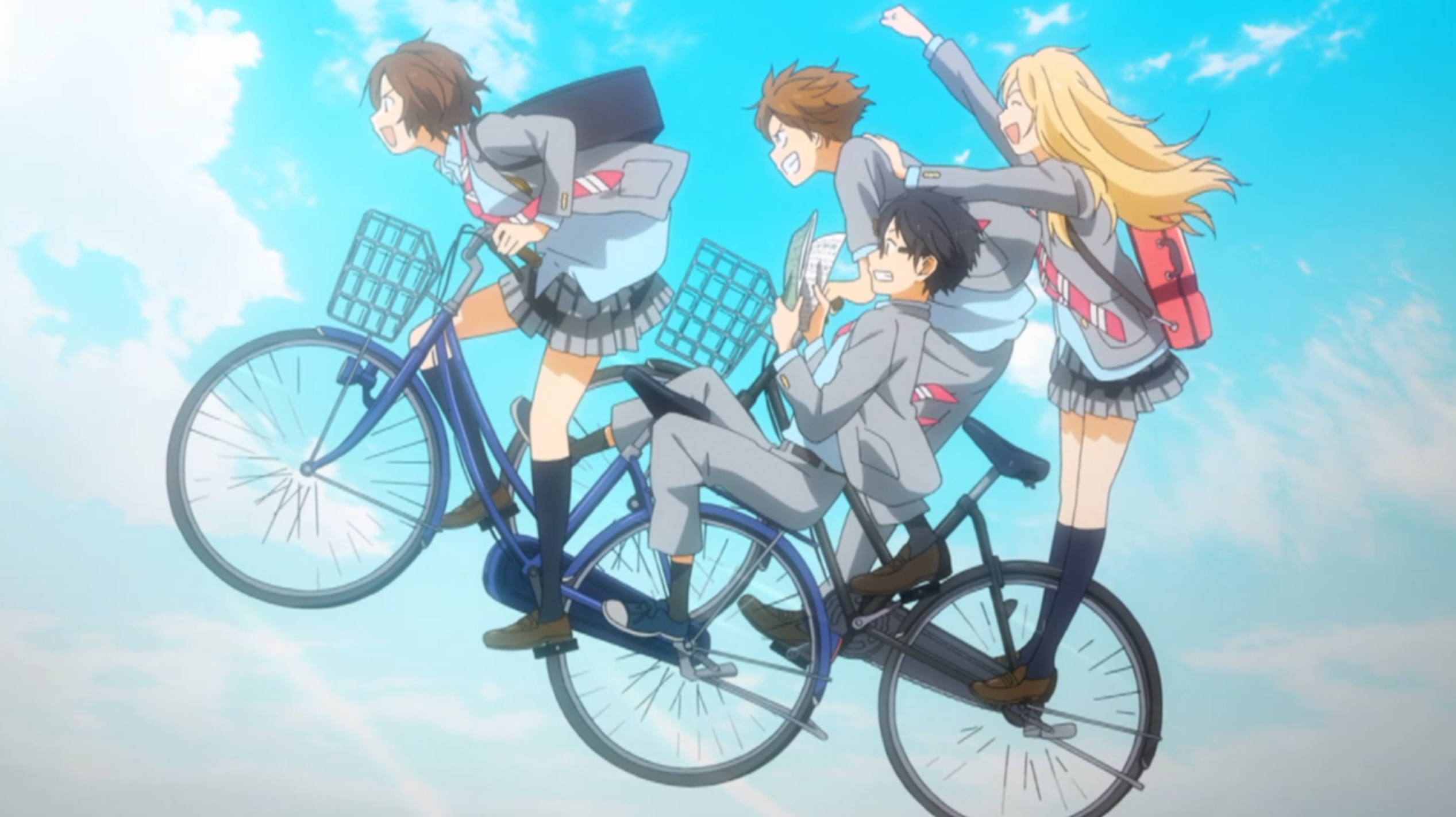 one of the best anime scenes i've seen! Your lie in