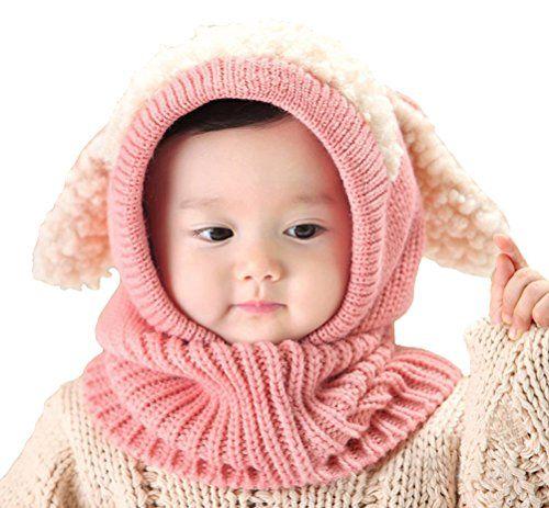 ae245571444 Baby Girls Boys Winter Hat Scarf Earflap Hood Scarves Sku ...