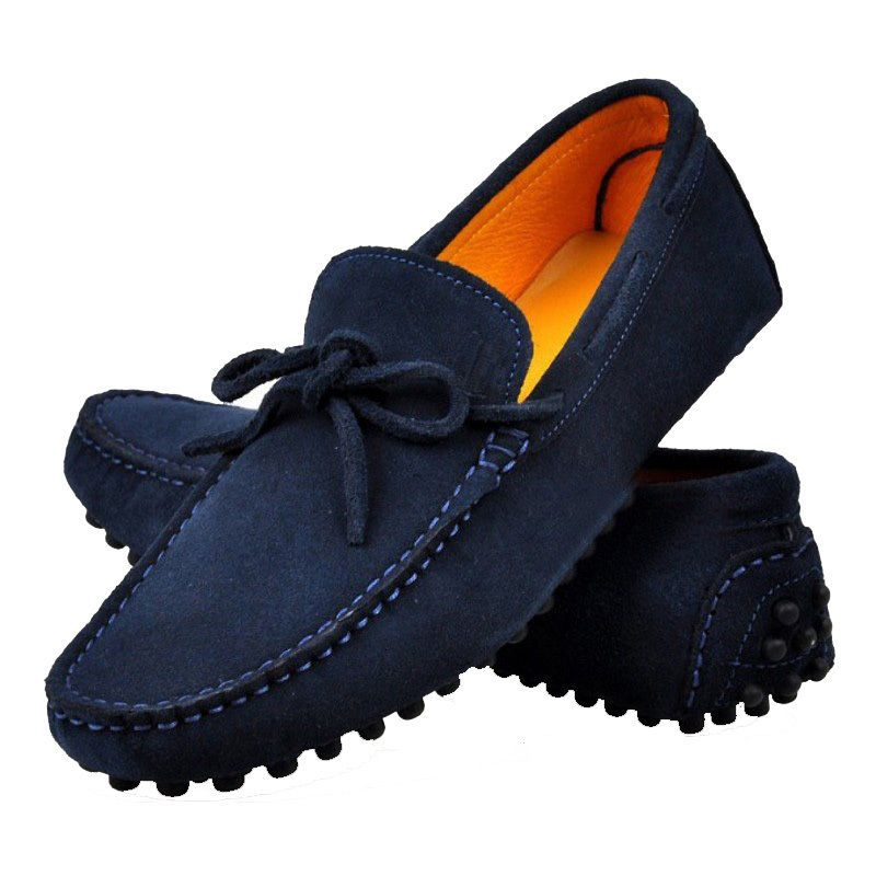 0ab105fc717 13 Color US Size 5-12 Slip On Leather Mens Casual Driving Moccasin Loafers  Shoes