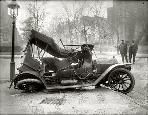 Car Wreck At Massachusetts Avenue Cars Vehicle And Ford Models - Interesting old cars