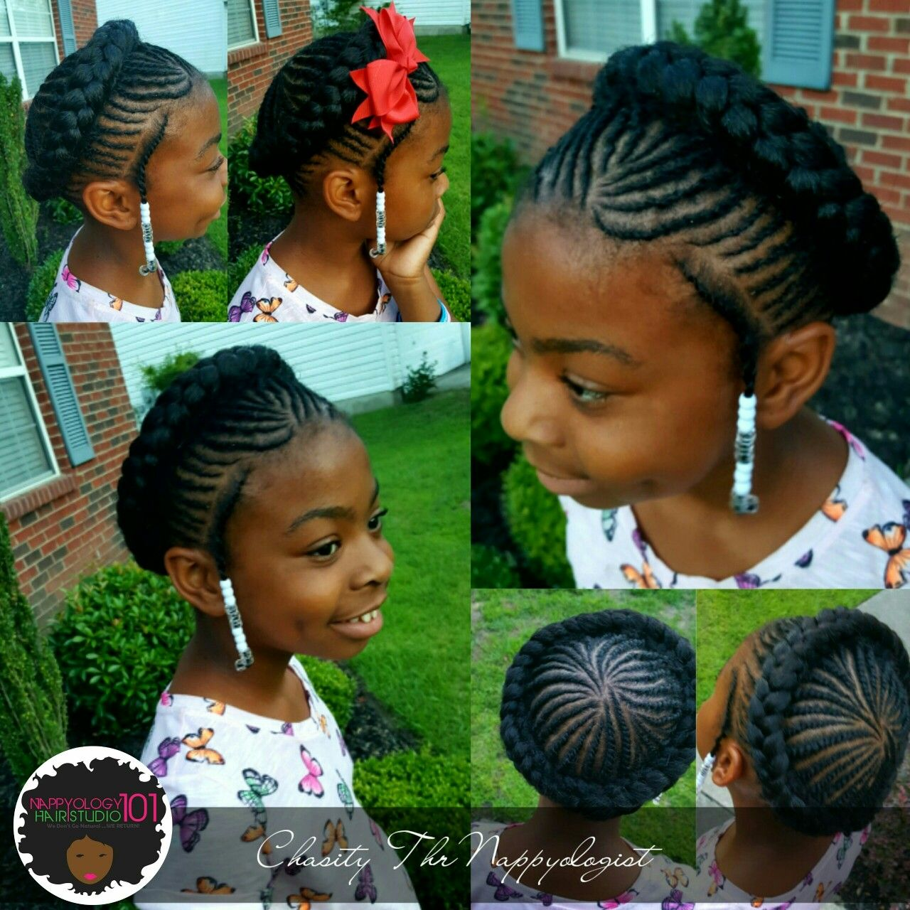 Halo Braids For Kids Natural Hair Www Styleseat Com