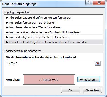 Bedingte Formatierung In Excel Mit Einer Formel Excel Tipps Lernen Lernmotivation