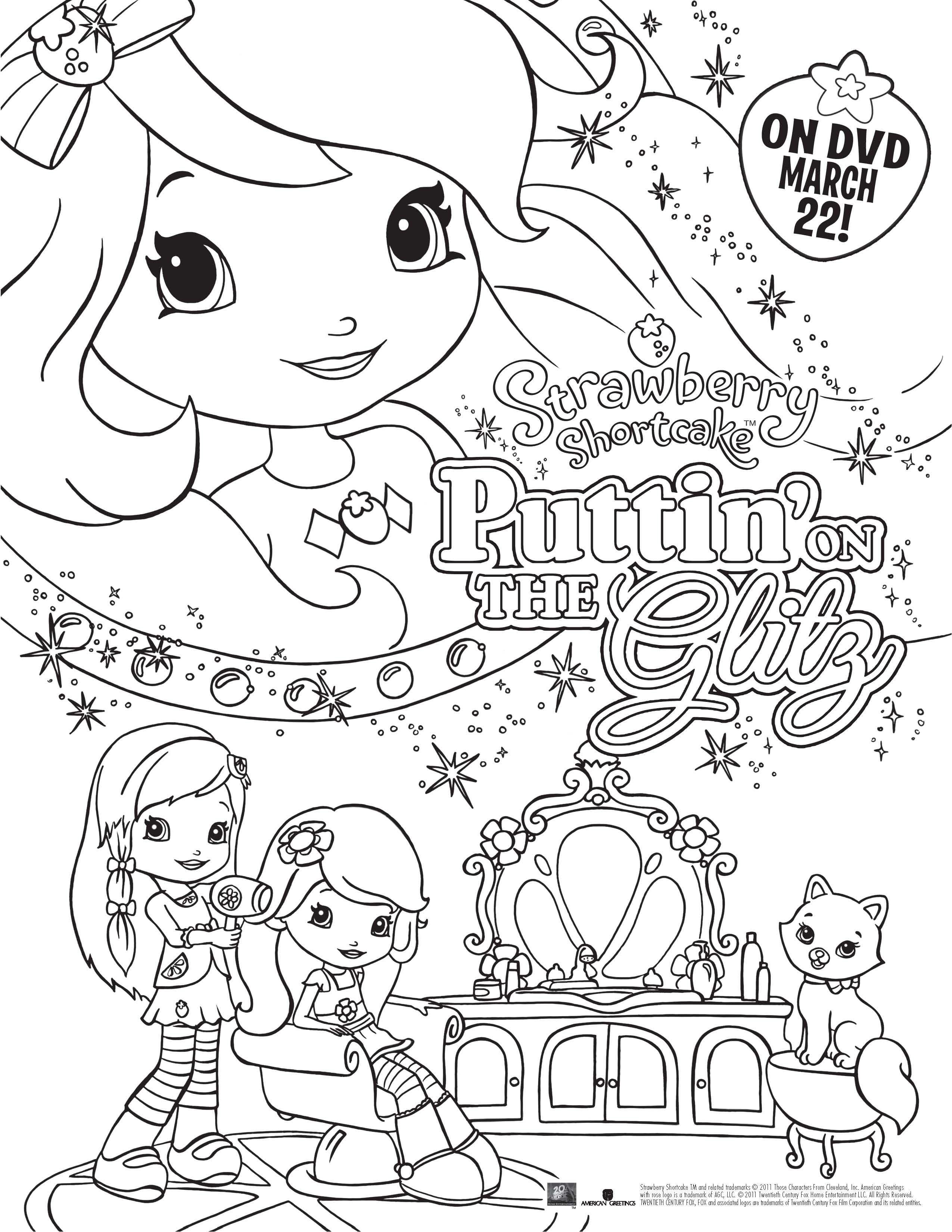 guarda tutti i disegni da colorare di fragolina dolcecuore www