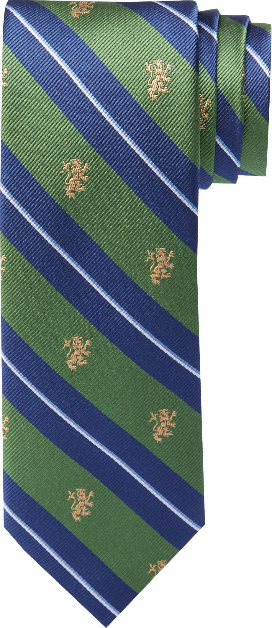 1905 Collection Majestic Lions Tie