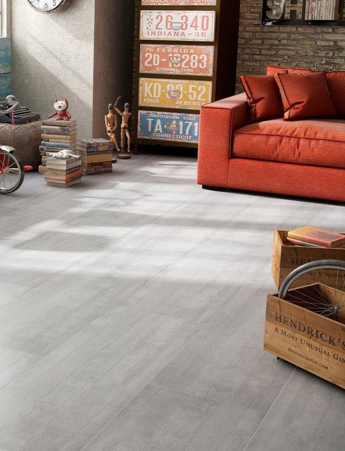 Tarima flotante terrazo gris ac6 de la colecci n nico for Decoracion piso laminado gris
