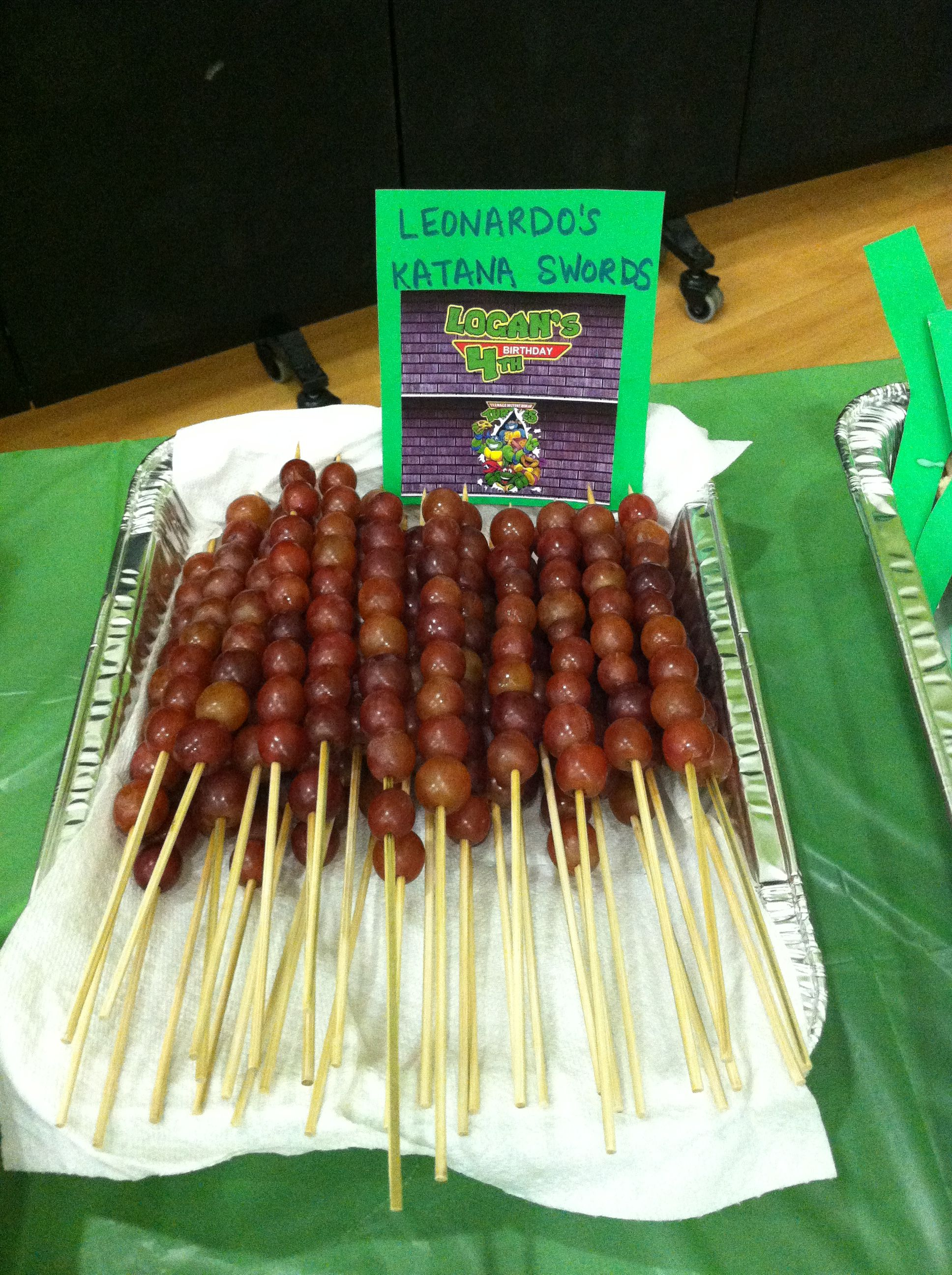 Pin By Janie Villarin On Logan S Teenage Mutant Ninja Turtle Birthday Party For Our 4 Year Old Ninja Turtles Birthday Party Teenage Mutant Ninja Turtles Birthday Party Ninja Turtle Party