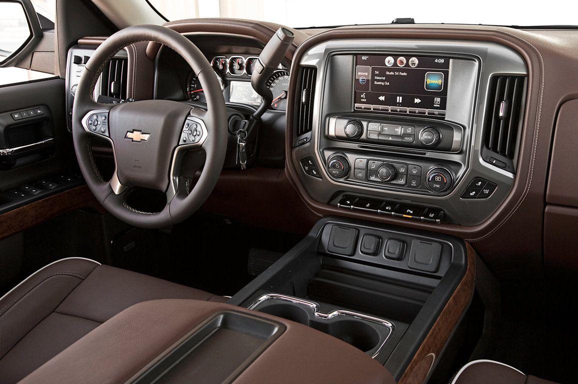 High Country Chevy >> 2014 Chevy Silverado High Country Interior Rides Pinterest